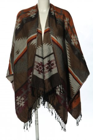 Atmosphere Poncho Mustermix Casual-Look