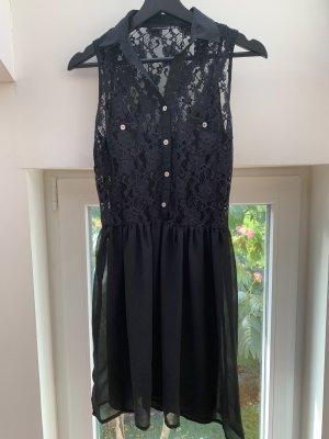 Atmosphere Primark Kleid mit Spitze schwarz