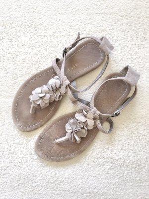 Atmosphere Toe-Post sandals beige-grey brown