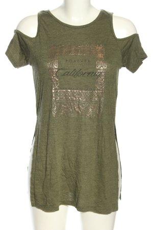 Atmosphere Print-Shirt Motivdruck Casual-Look