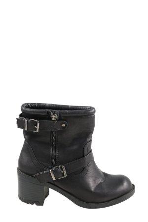 Atmosphere Reißverschluss-Stiefeletten schwarz Casual-Look