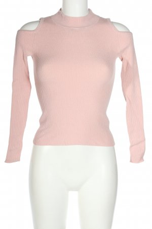 Atmosphere Geribd shirt roze casual uitstraling