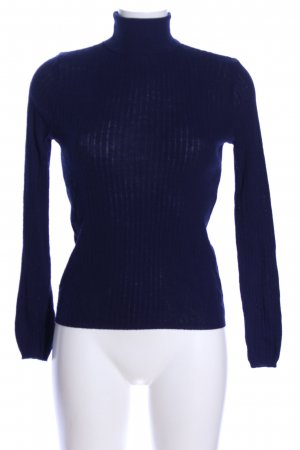 Atmosphere Rollkragenpullover blau Casual-Look