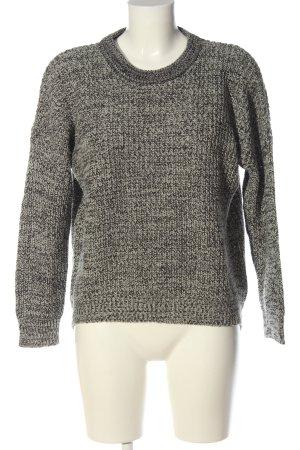 Atmosphere Crewneck Sweater light grey flecked casual look