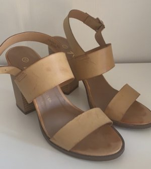 Atmosphere Strapped High-Heeled Sandals light brown