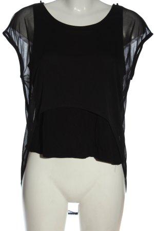 Atmosphere Schlupf-Bluse schwarz Elegant