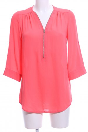 Atmosphere Schlupf-Bluse pink Business-Look