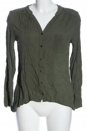 Atmosphere Schlupf-Bluse braun Casual-Look