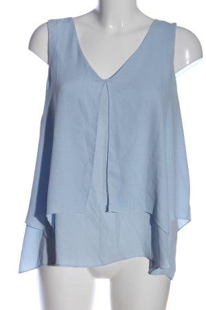 Atmosphere Schlupf-Bluse blau Business-Look