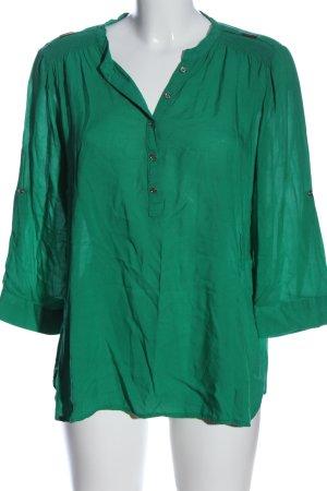 Atmosphere Schlupf-Bluse grün Business-Look