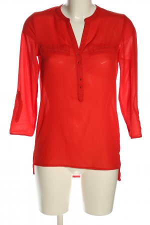 Atmosphere Schlupf-Bluse rot Casual-Look