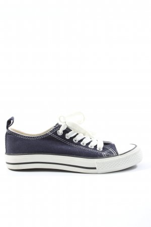 Atmosphere Lace-Up Sneaker blue casual look