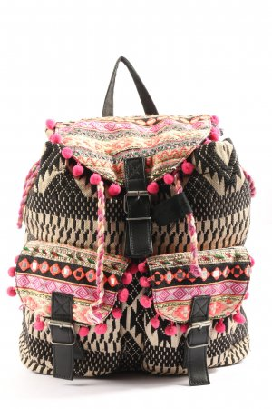 Atmosphere School Backpack graphic pattern casual look