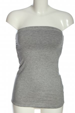 Atmosphere Off-The-Shoulder Top light grey flecked casual look