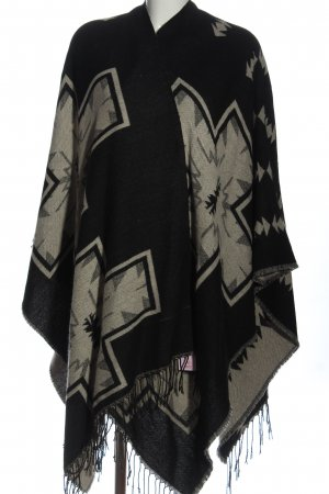 Atmosphere Shoulder Scarf black-natural white allover print casual look