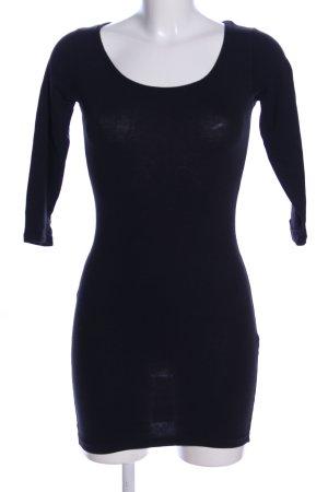 Atmosphere Shirtkleid schwarz Casual-Look