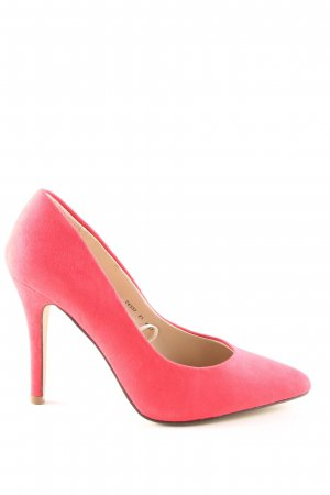 Atmosphere Backless Pumps red business style
