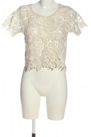Atmosphere Lace Blouse natural white casual look