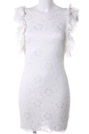 Atmosphere Kanten jurk wit elegant