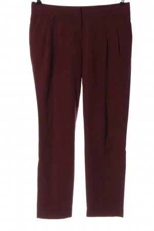 Atmosphere Pantalon en jersey rouge style d'affaires