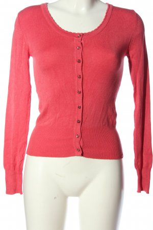 Atmosphere Strick Cardigan rot Casual-Look