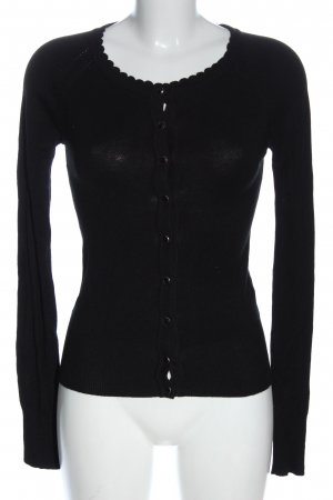 Atmosphere Cardigan tricotés noir style décontracté