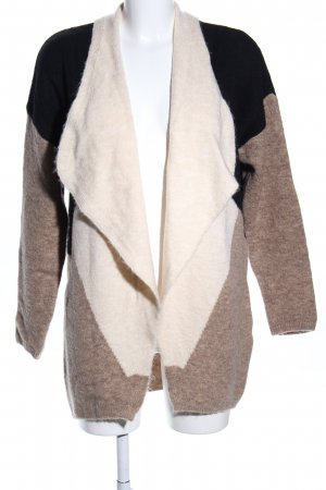 Atmosphere Strick Cardigan grafisches Muster Casual-Look