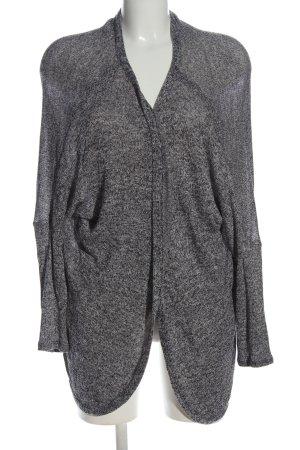 Atmosphere Cardigan in maglia grigio chiaro puntinato stile casual