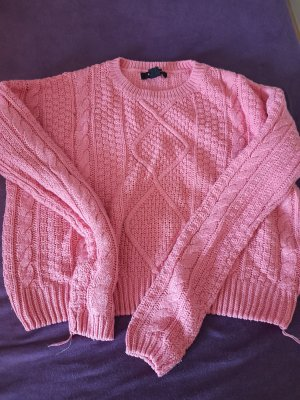Atmosphere Pullover a maglia grossa rosa