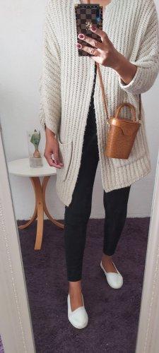 Atmosphere Manteau en tricot beige clair