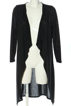 Atmosphere Cappotto a maglia nero stile casual