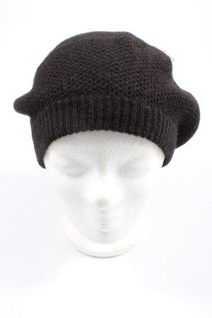 Atmosphere Cappello a maglia nero puntinato stile casual