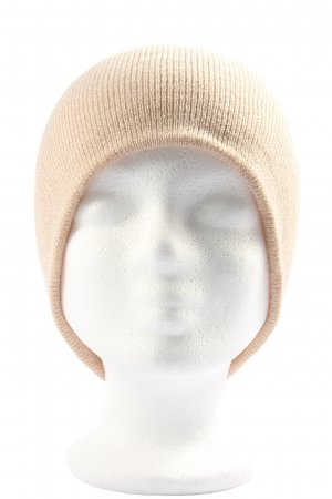 Atmosphere Knitted Hat nude casual look
