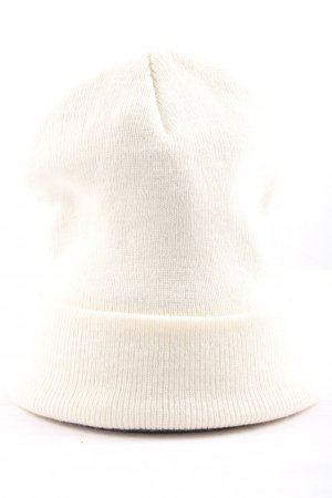 Atmosphere Knitted Hat white casual look