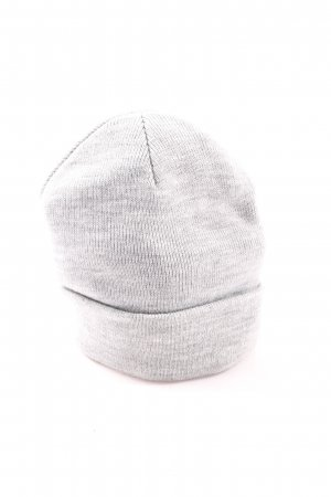Atmosphere Knitted Hat light grey flecked casual look
