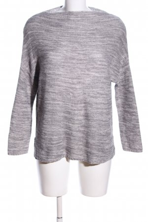 Atmosphere Strickpullover hellgrau meliert Business-Look