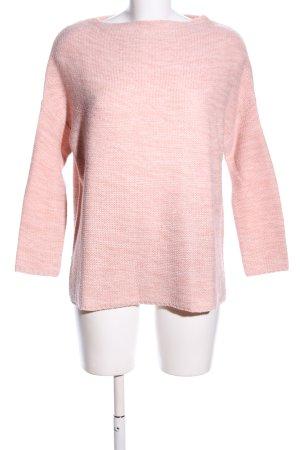 Atmosphere Strickpullover pink meliert Casual-Look