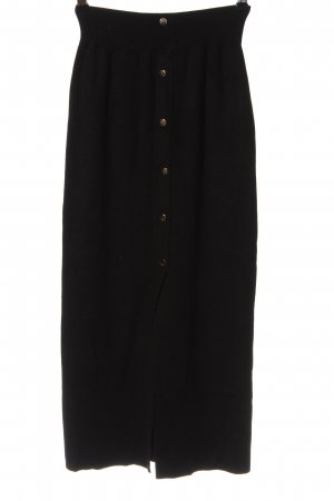 Atmosphere Knitted Skirt black casual look