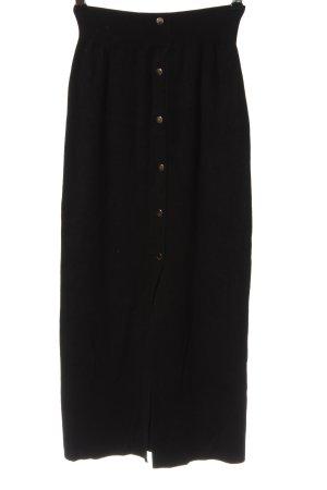 Atmosphere Jupe tricotée noir style décontracté