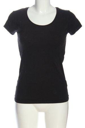 Atmosphere Camicia maglia nero stile casual