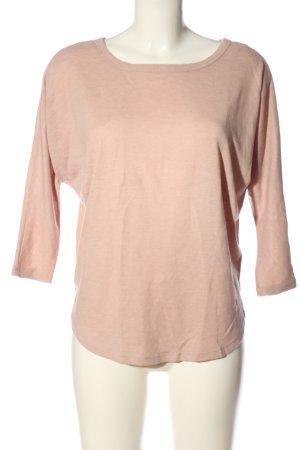 Atmosphere Strickshirt pink meliert Casual-Look