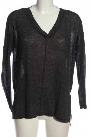 Atmosphere Strickshirt schwarz Casual-Look