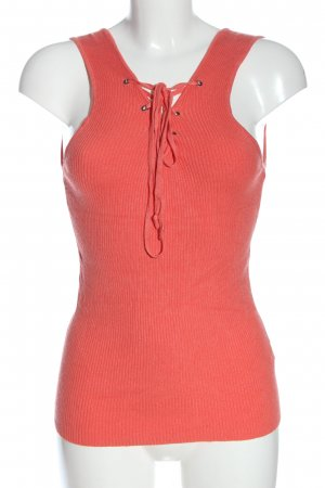 Atmosphere Knitted Top red casual look