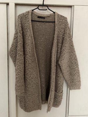 Atmosphere Knitted Vest cream-grey brown