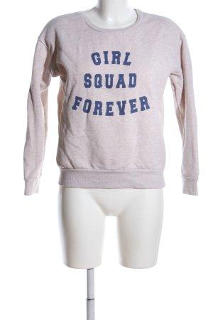 Atmosphere Sweatshirt pink meliert Casual-Look