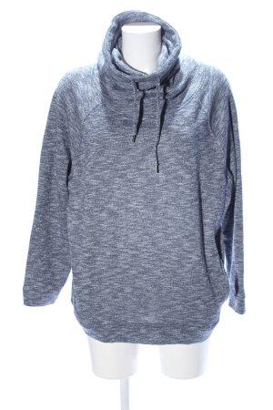 Atmosphere Sweatshirt hellgrau meliert Casual-Look