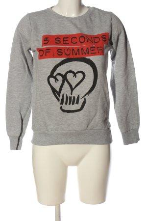 Atmosphere Sweatshirt Motivdruck Casual-Look