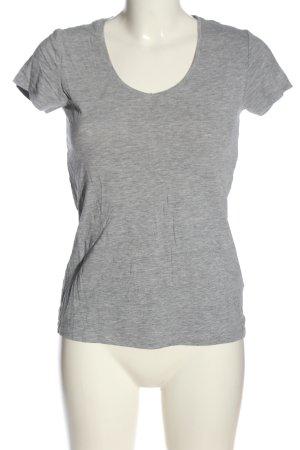 Atmosphere T-Shirt hellgrau meliert Casual-Look