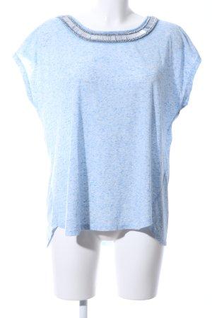 Atmosphere T-Shirt blau meliert Casual-Look