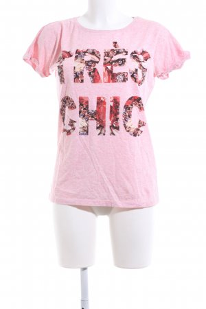 Atmosphere T-Shirt pink meliert Casual-Look